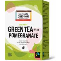 Fair Trade Original Groene thee met granaatappel